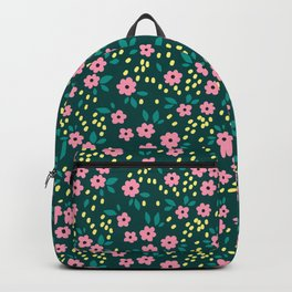 16 Ditsy floral pattern Backpack