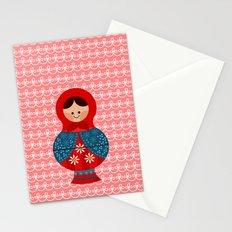 Matrioskas (Russian dolls) Stationery Cards