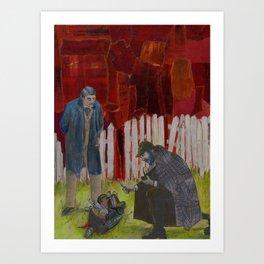 Sherlock Holmes #2 Art Print