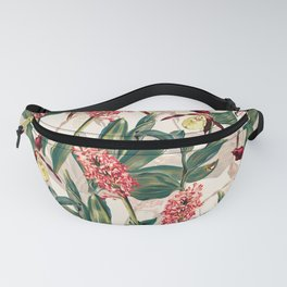 Tropical Leaf Pattern Fanny Pack