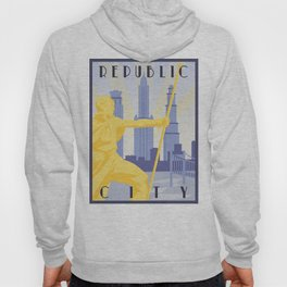 Republic City Travel Poster Hoody