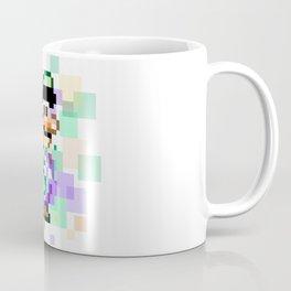 Super Mario Pixel Cubism - Luigi Coffee Mug
