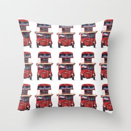 London Bus - Routemaster Bus Throw Pillow