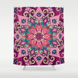 Mandala Bloom Shower Curtain