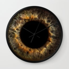 EYE Love to See You, Amber Wall Clock