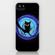 time for child stories: the EVIL OWL iPhone (5, 5s) Slim Case