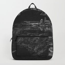 Cottage (Black and White) Backpack
