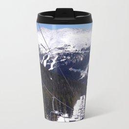 entry to the slopes Travel Mug