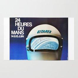 Le Mans 1975, vintage poster, 24hs Le Mans t-shirt Rug