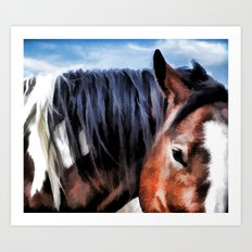 Pony Love Art Print