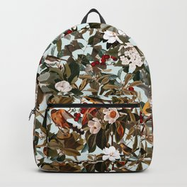 Floral and Birds XXVII Backpack