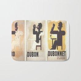 Vintage poster - Dubonnet Bath Mat