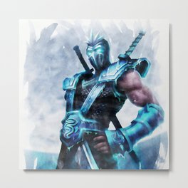 League of Legends FROZEN SHEN Metal Print