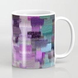 abstract colorful pastel drawing purple blue tones Coffee Mug
