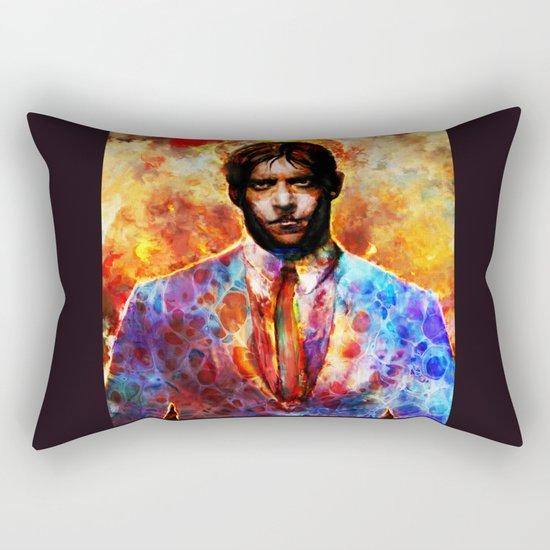 wanted Rectangular Pillow