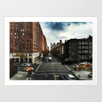 NYC Highline Art Print