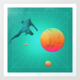 Netflux Art Print