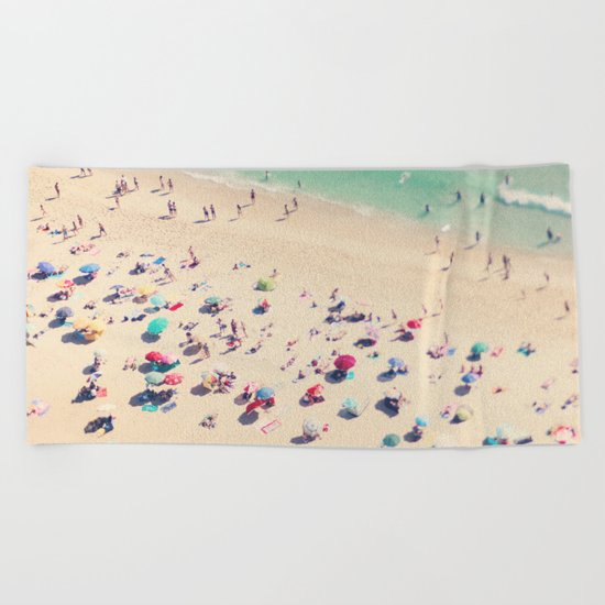 beach summer in love Beach Towel