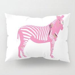 Le Zèbre rose, Pink Zebra Pillow Sham