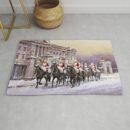 Horse Guards parade Rug