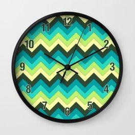 Multicolor Pattern Wall Clock