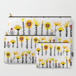 Sunny Days Ahead / floral art Carry-All Pouch