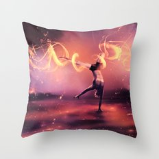 Fall Get up and Move Throw Pillow