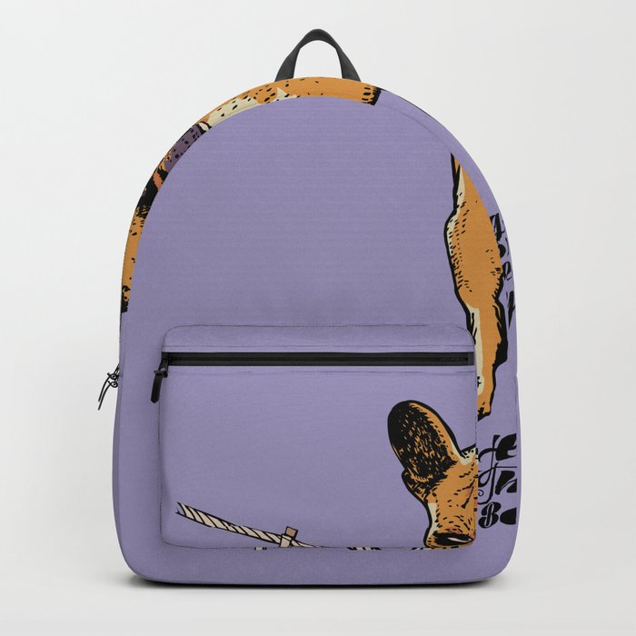Hang in There Baby Frenchie Backpack