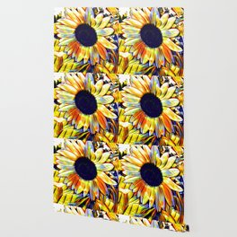 Blushing Sunflower Wallpaper