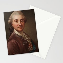 MARCELLO BACCIARELLI ATTRIBUTED TO, COUNT STANISLAW PONIATOWSKI AS KING AUGUST II OF POLAND. Stationery Cards