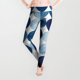 Block prints Leggings