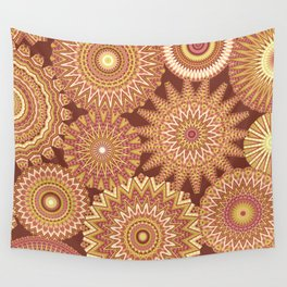 Kaleidoscopic-Canyon colorway Wall Tapestry