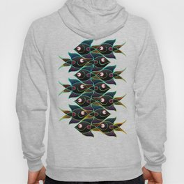A World Full of Smiling Fishes Hoody