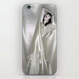"say no to patriarchy / ""the drama"" iPhone Skin"