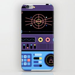 Device from another world #1 iPhone Skin