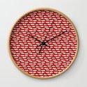 Navy red maritime sea fishes pattern by simplicity_of_live