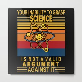 SCIENCE IABILITY Metal Print