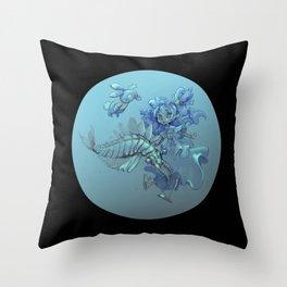 Cambrian cuties Throw Pillow