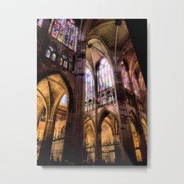 Catedral de Santa Maria de Regla de Leon Metal Print