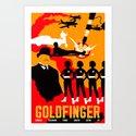 James Bond Golden Era Series :: Goldfinger by davidedwardjohnson