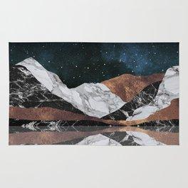 Landscape Mountains Rug