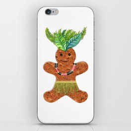 Tropical Gingerbread iPhone Skin