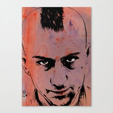 Travis Bickle Taxi Driver Canvas Print