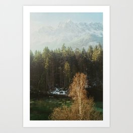 Mountain Nature Art Print