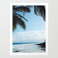 Lazy Afternoons in Tulum, Mexico Art Print