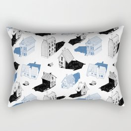 Homes of Lonesome Road Rectangular Pillow