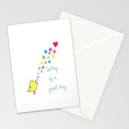 Today is a Good Day. Stationery Cards