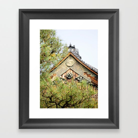NIJO CASTLE Framed Art Print