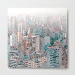 big city life Asia Metal Print