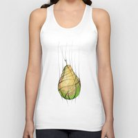 pear Tank Tops featuring Pear by Natalia Winiarz